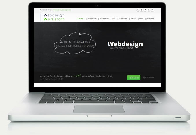 Webdesign Angebot